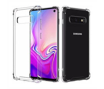 Colorfone Backcover Shockproof Samsung S10E Transparant
