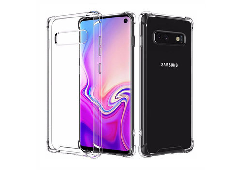 Backcover Shockproof Samsung S10 Transparant