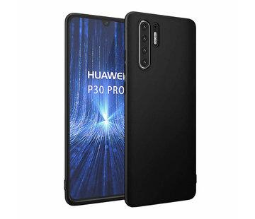 Colorfone Huawei P30 Pro  Hoesje Zwart CoolSkin Slim