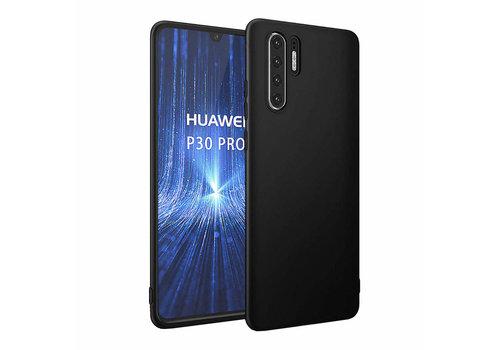 Huawei P30 Pro  Hoesje Zwart CoolSkin Slim