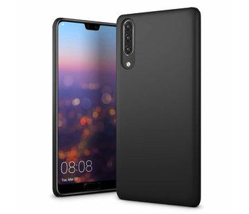 Colorfone Huawei P30  Hoesje Zwart CoolSkin Slim