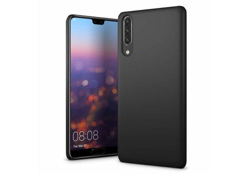 Huawei P30  Hoesje Zwart CoolSkin Slim