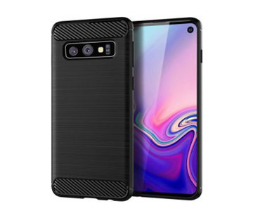 Colorfone Hoes Armour 1 Samsung S10 Zwart