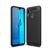 Colorfone Hoes Armour 1 Huawei Y9 2019 Zwart
