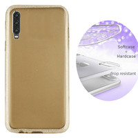 BackCover Layer TPU + PC voor Huawei P30 Goud