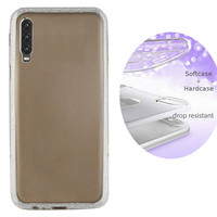 BackCover Layer TPU + PC voor Huawei P30 Zilver