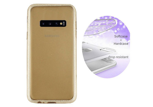BackCover Layer Samsung S10 Plus Goud