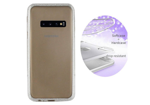 BackCover Layer Samsung S10 Plus Zilver