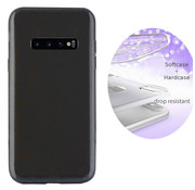 Colorfone BackCover Layer Samsung S10 Plus Zwart