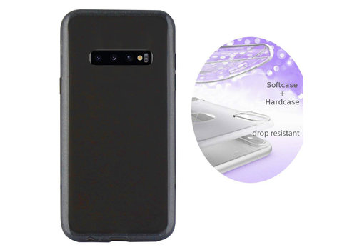BackCover Layer Samsung S10 Plus Zwart