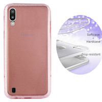 BackCover Layer TPU + PC voor Samsung M10 Roze