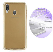 Colorfone BackCover Layer Samsung M20 Goud