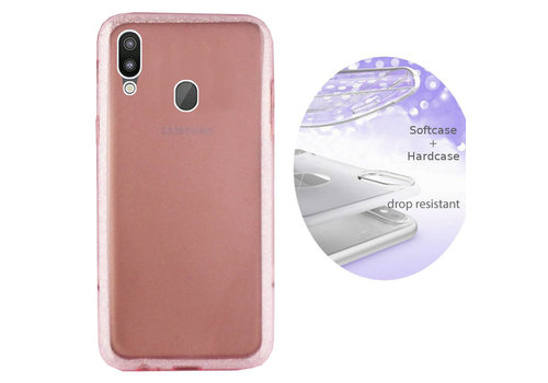 BackCover Layer Samsung M20 Roze