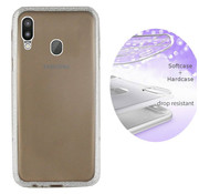Colorfone BackCover Layer Samsung M20 Zilver