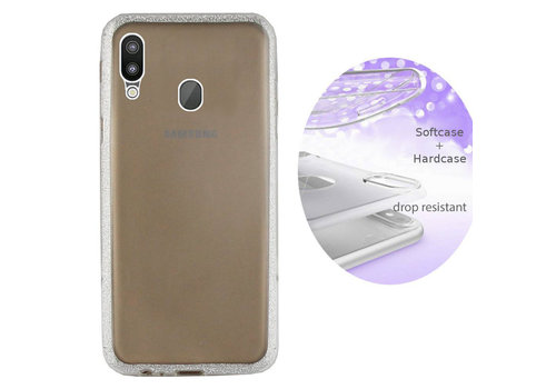 BackCover Layer Samsung M20 Zilver