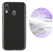 Colorfone BackCover Layer Samsung M20 Zwart