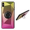 Colorfone BackCover Ring / Magneet Aurora iPhone Xs Goud+Roze