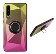 Colorfone BackCover Ring Aurora P30 Goud+Roze