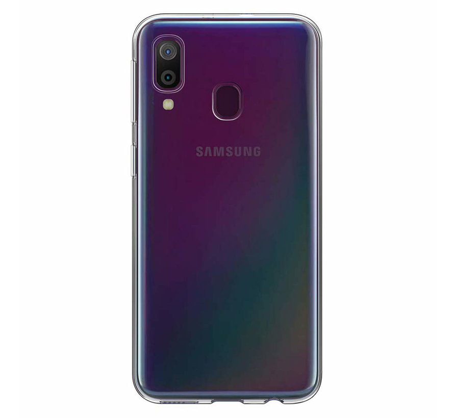 Samsung M30 Siliconen Hoesje Transparant - CoolSkin3T