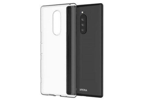 CoolSkin3T Sony Xperia 1 Transparant Wit