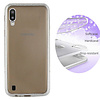 Colorfone BackCover Layer TPU + PC voor Samsung M10 Zilver