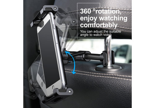 Back Seat Car Mount Houder Zwart