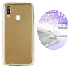 Colorfone BackCover Layer TPU + PC voor Samsung A20 - A30 Goud