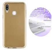 Colorfone Samsung A20 and A30 Case Gold  - Layer