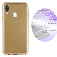 BackCover Layer TPU + PC voor Samsung A20 - A30 Goud