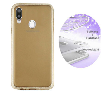 Colorfone BackCover Layer Samsung A20 - A30 Goud