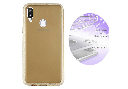 BackCover Layer Samsung A20 - A30 Goud