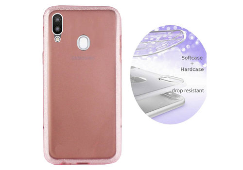 BackCover Layer Samsung A20 - A30 Roze