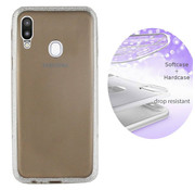 Colorfone Samsung A20 and A30 Case Silver   - Layer