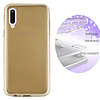 Colorfone BackCover Layer TPU + PC voor Samsung A70 Goud