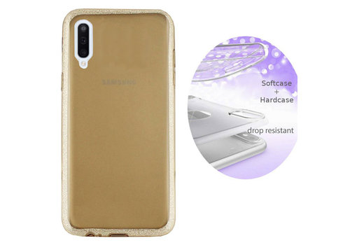 BackCover Layer Samsung A70 Goud