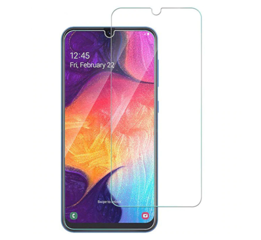 Samsung A20 - A30 - A50 Screenprotector - Tempered Glass 9H