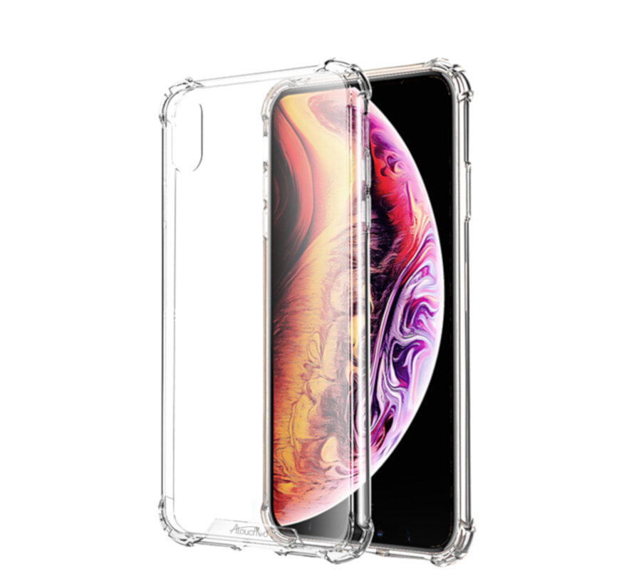 iPhone Xs Max Hoesje Transparant - Anti-Shock