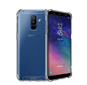 Atouchbo Samsung A6 Plus 2018 Hoesje Shock Proof Transparant AntiShock