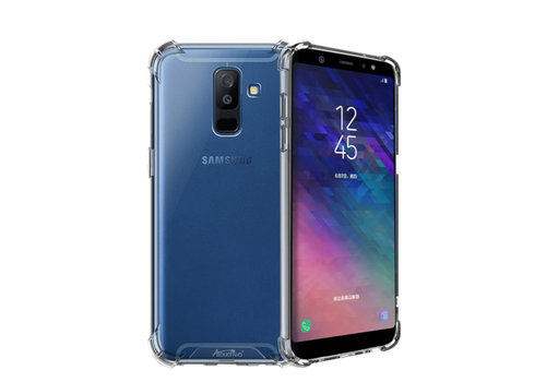 Samsung A6 Plus 2018 Hoesje Shock Proof Transparant AntiShock