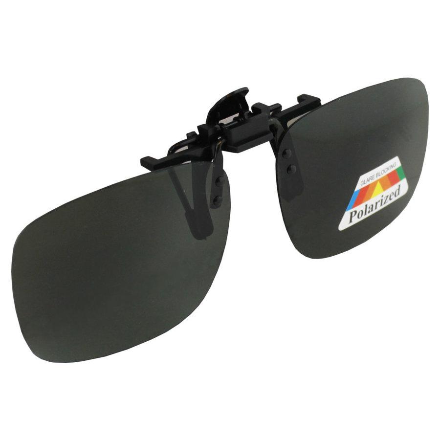 Zonnebril UV 400 Clip-on Polariserend Glas  Groen S377_2