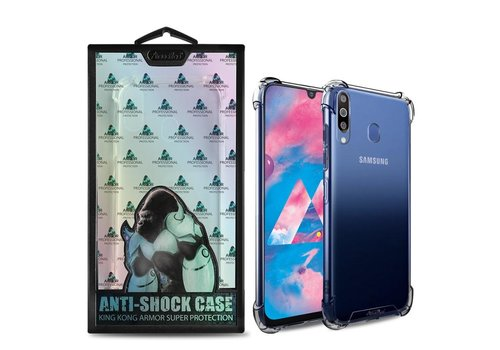 Samsung M30 Hoesje Transparant Anti-Shock