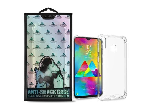Backcover Anti-Shock Samsung M20 Transparant