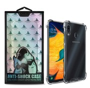 Atouchbo Samsung A20 - A30 Hoesje Transparant Anti-Shock