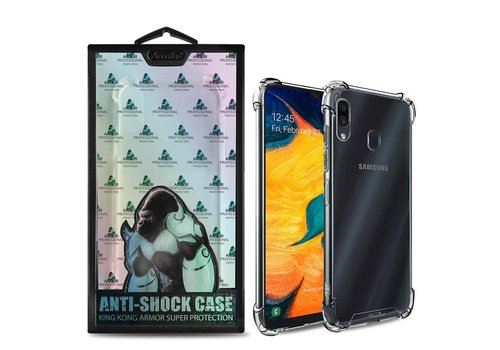 Samsung A20 - A30 Hoesje Transparant Anti-Shock