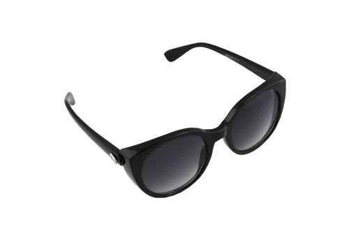 Sunglasses Cat Eye Black 2714_5