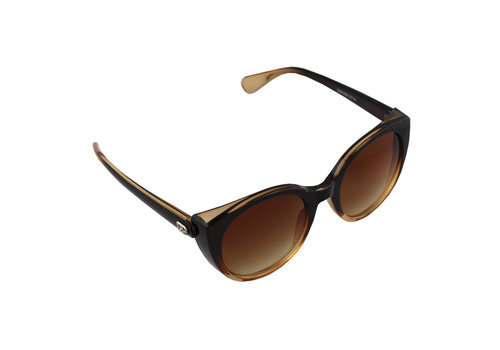 Sunglasses Cat Eye Brown 2714_4