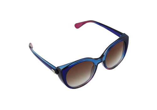 Sunglasses Cat Eye Blue Purple 2714_3