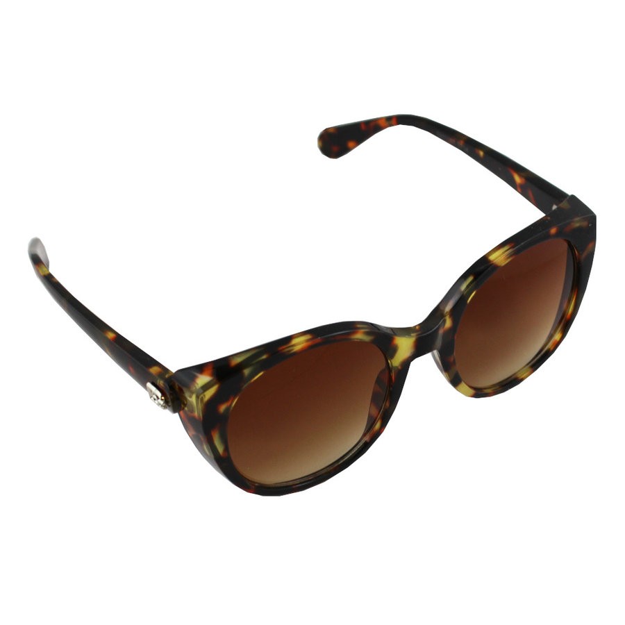 Sunglasses UV 400 Cat Eye Leopard Brown 2714_2