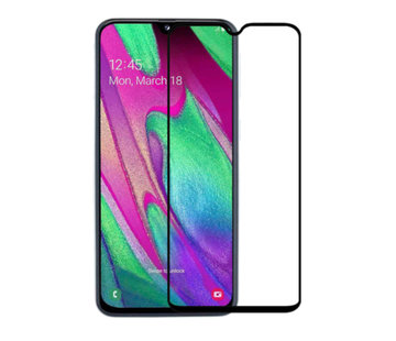 Colorfone Samsung A50 Screenprotector Glas 2.5D - Zwart