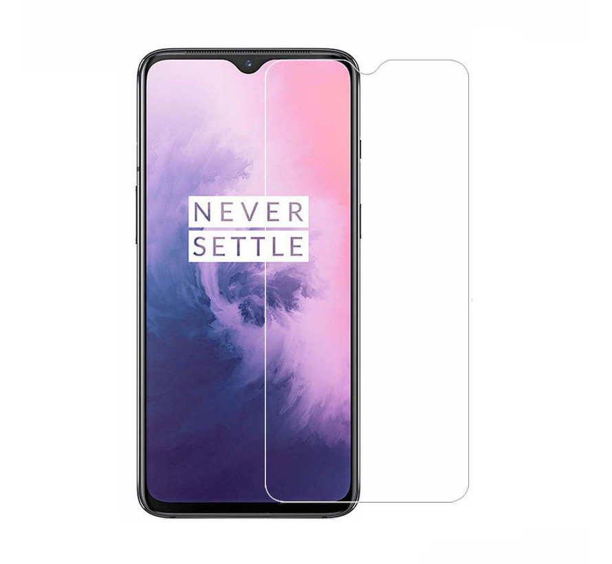 OnePlus 7 Screenprotector - Tempered Glass 9H